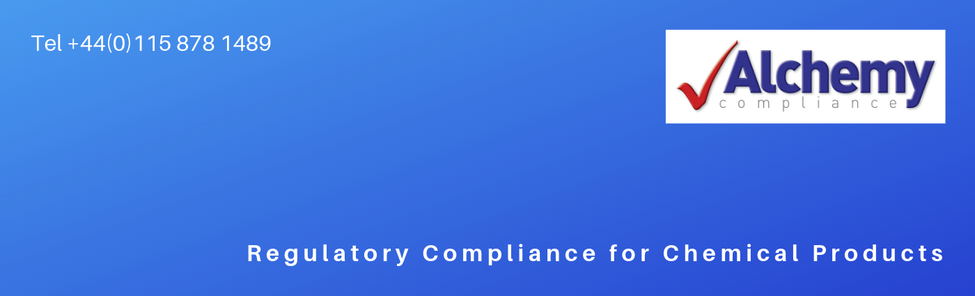Banner and logo for Alchemy Compliance