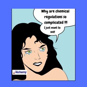 Chemical regulation cartoon